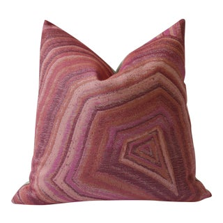 Pink Agate Marble Pillow Cover