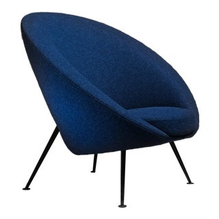 Ico Parisi Rare Egg Chair Model 813 in Original Upholstery, Cassina, Italy, 1950