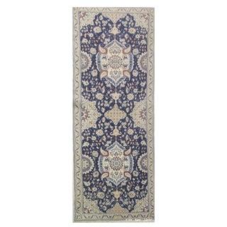 """Vintage Persian Nain Runner Rug - 3'2"""" x 10'7"""""""