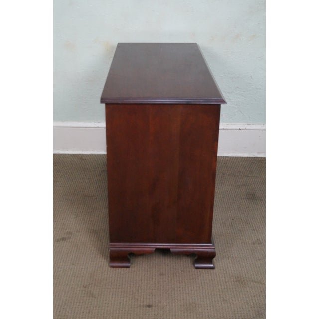 Craftique Solid Mahogany Chippendale Style Dresser - Image 3 of 10