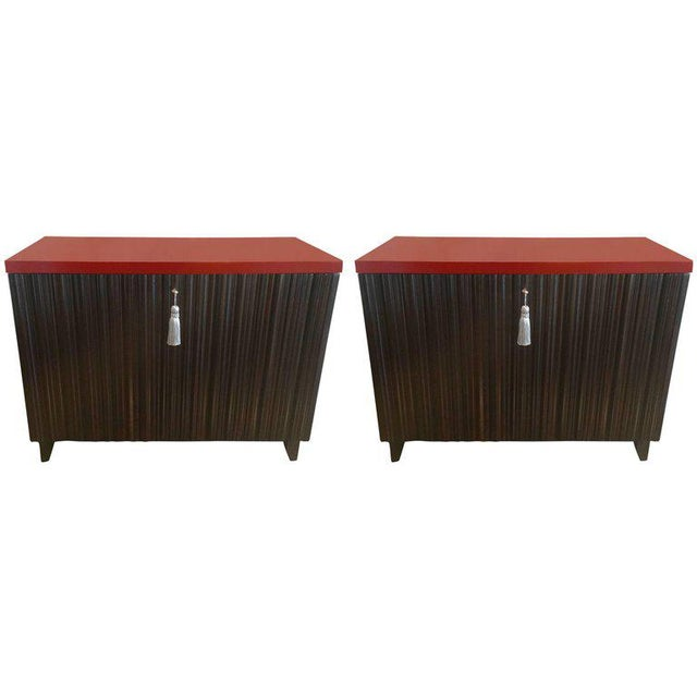 Laura Kirar for Baker Commodes - A Pair - Image 11 of 11