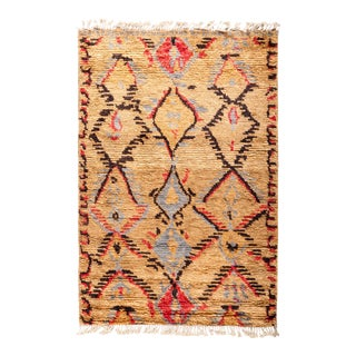 "Tullu Hand Knotted Area Rug - 4' 2"" x 6' 2"""