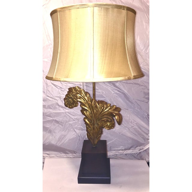 Transitional architectural element table lamp chairish for Table th width attribute