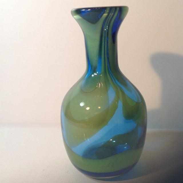 Super Blenko Designer Series Drag Loop Vase - Image 3 of 6