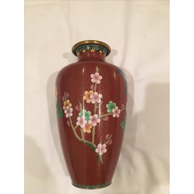 Cloisonné Vase - Image 4 of 9