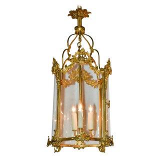 French Louis XV Gilt Bronze Lantern