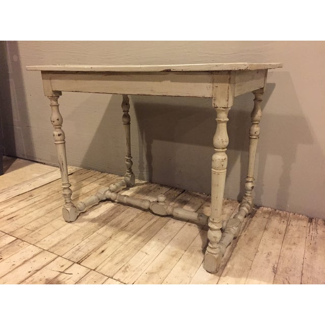 Refinished Antique French Country Directoire Table - Image 3 of 7