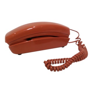 Vintage Cayenne Trimline Touch-Tone Telephone