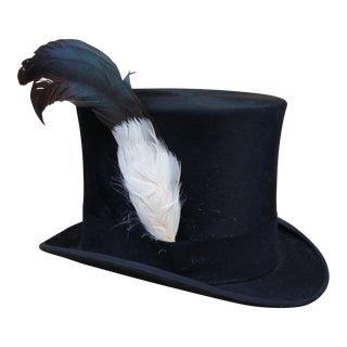 Victorian Moleskin Silk Top Hat