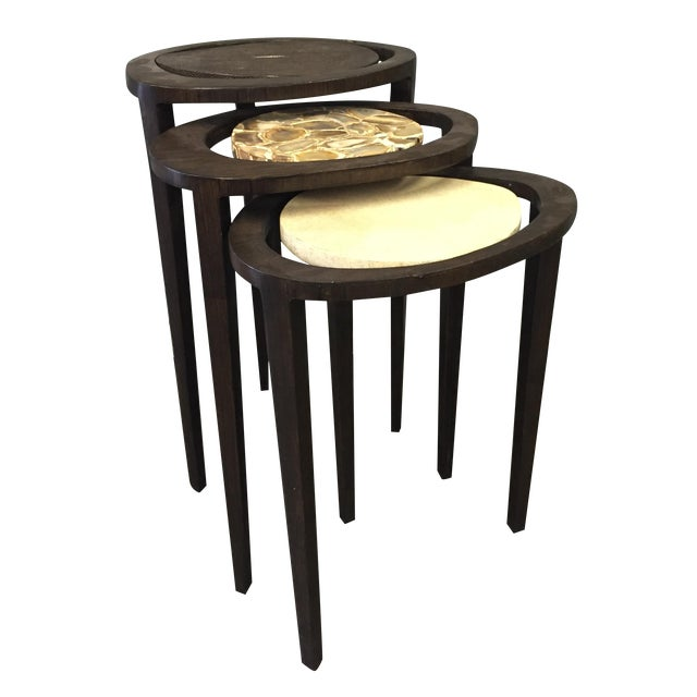 R&Y Augousti Nesting Tables - Set of 3 - Image 1 of 7