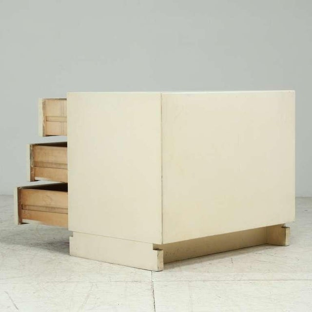 1950s Artek freestanding chest of drawers in white - Image 5 of 6