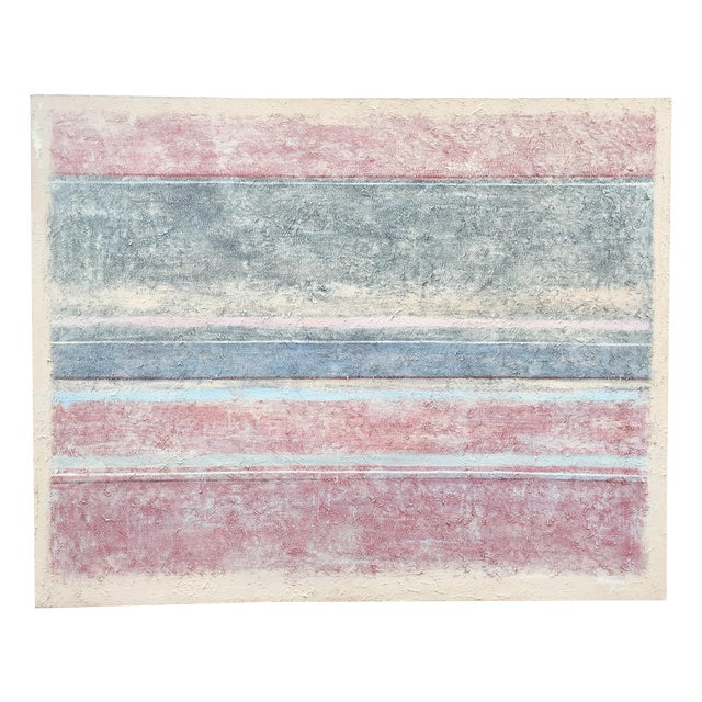 Large Abstract Painting by Manuel Romero - Image 1 of 9
