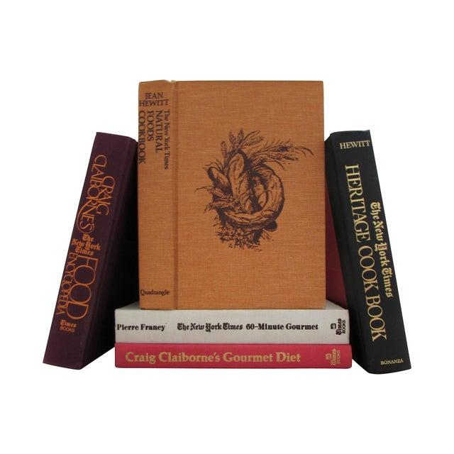 Image of Craig Claiborne Cookbooks - Set of 5