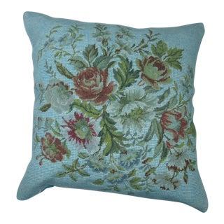 Blue Overdyed Pillow