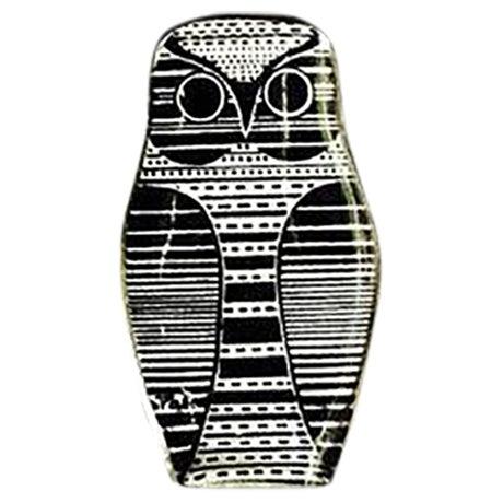 Vintage Abraham Palatnik Owl Figurine - Image 1 of 5