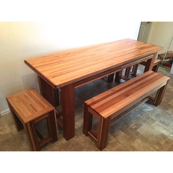 Image of Custom Oak Dinning Set
