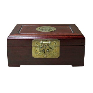 Chinese Huali Rosewood Accessories Jewelry Box