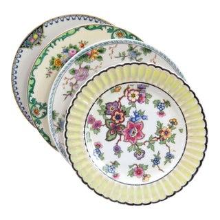 Vintage Mismatched China Bread Plates - Set of 4