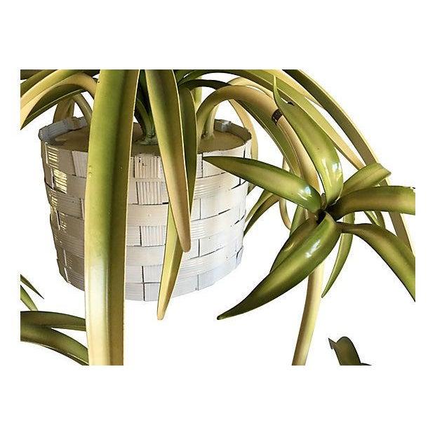 Italian Spider Plant Chandelier - Image 2 of 9