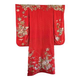 Uchikake Wedding Kimono Wall Art