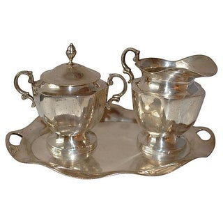 Sterling Silver Coffee Set - 3 Pieces