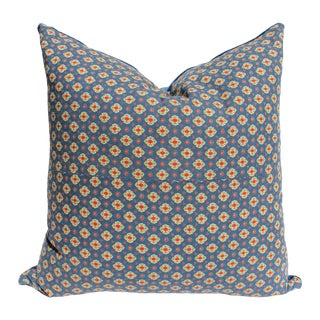 Vintage French Foulard Pillow