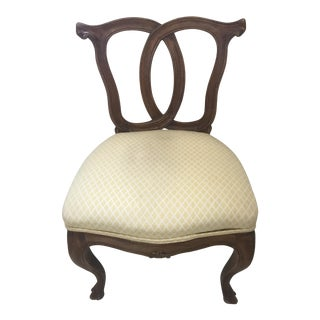 Italian Antique Accent Chair