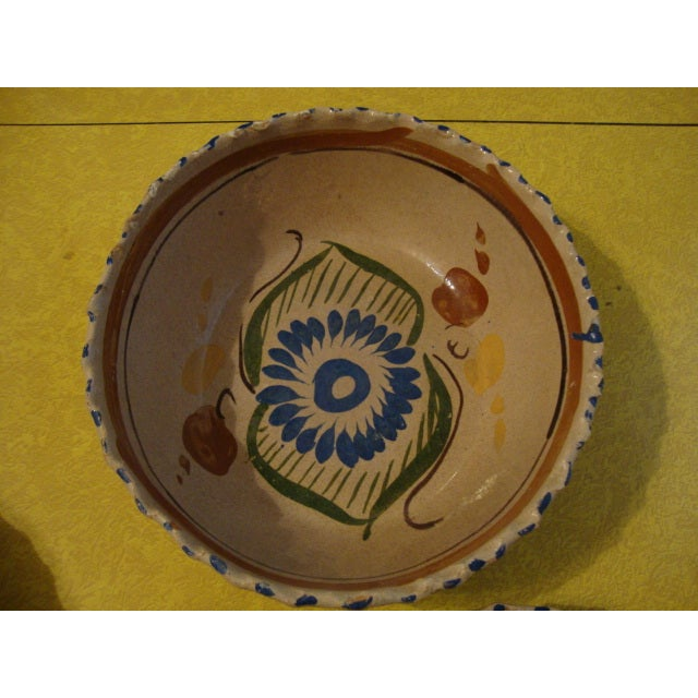 Mexican Tlaquepaque Nesting Bowls - Set of Four - Image 3 of 10