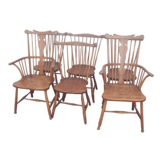 Stickley Windsor Back Dining Chairs - Set of 6