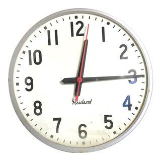 Vintage Rauland School Clock