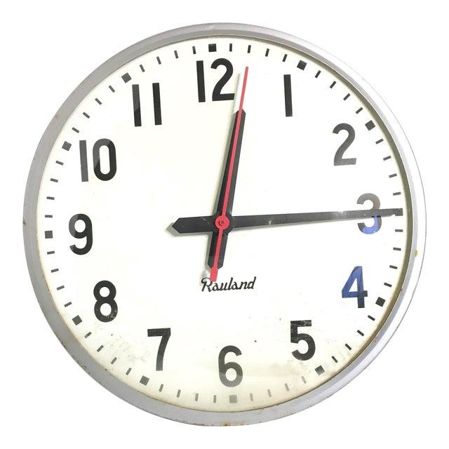 Image of Vintage Rauland School Clock
