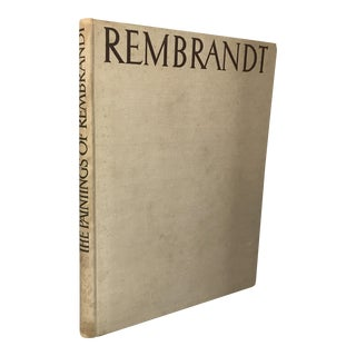 """The Paintings of Rembrandt"" 1942 Art Book"