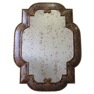 Mediterranean Style Embossed Mirror