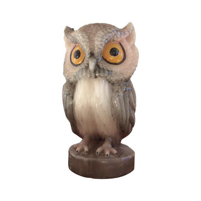 Vintage Owl Candle - Image 1 of 11