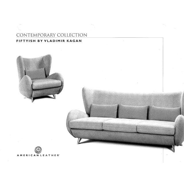 """Vladimir Kagan """"Fiftyish"""" Sofa & Chairs - Set of 3 - Image 5 of 9"""