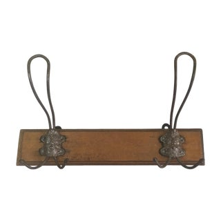 French Face Coat/Hat Rack