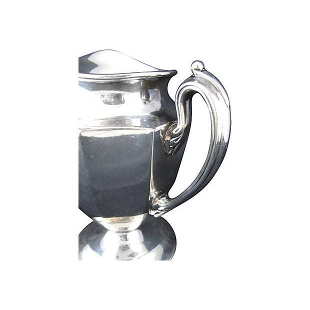 Image of Antique Newberry Silver Plate Creamer