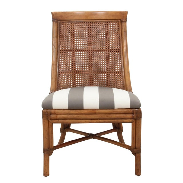 Bamboo Dining Chairs - Set of 8 - Image 2 of 9
