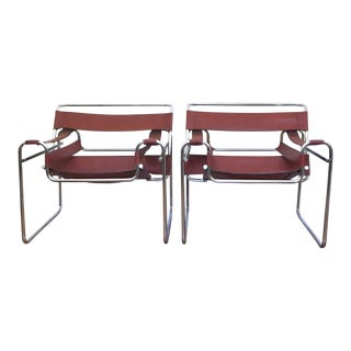 Vintage Wassily Chairs - a Pair