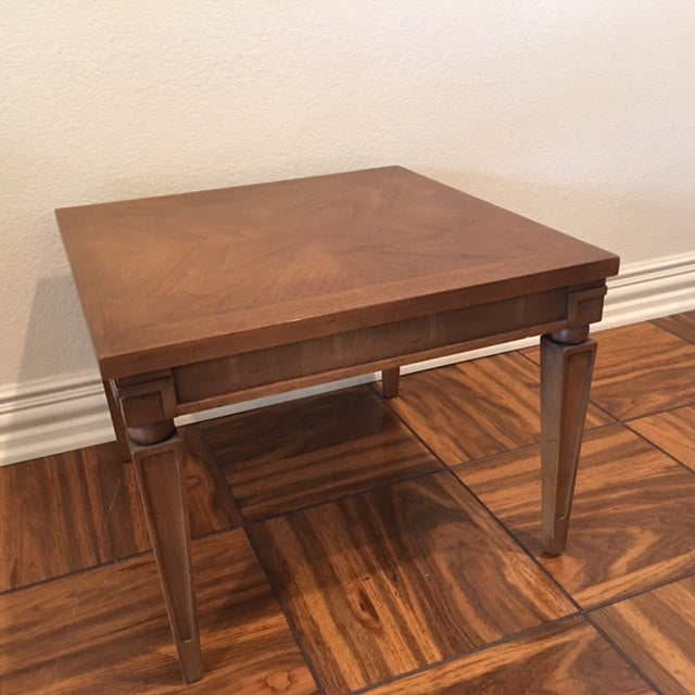 Image of Lane Mid-Century Modern Accent Tables - Pair