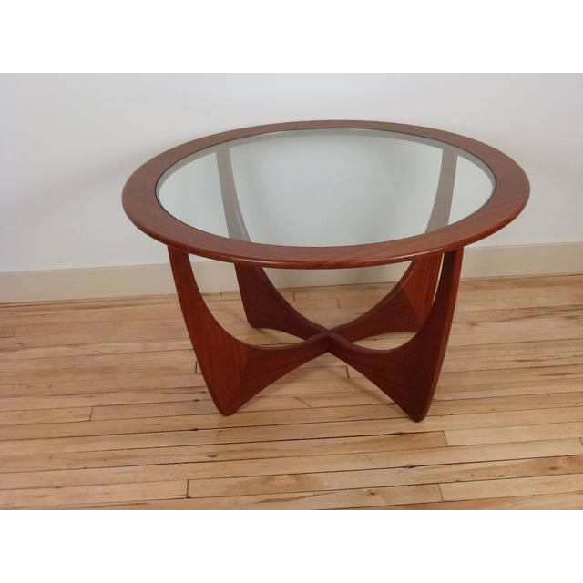 G-Plan Round Astro Glass Coffee Table - Image 2 of 5