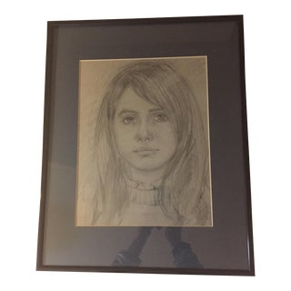 Sketched Portrait of a Girl