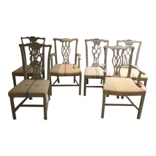 20th Century Chippendale Style Chairs - Set of 6