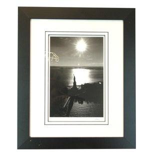 Framed Photograph Statue of Liberty Jesse Kalisher