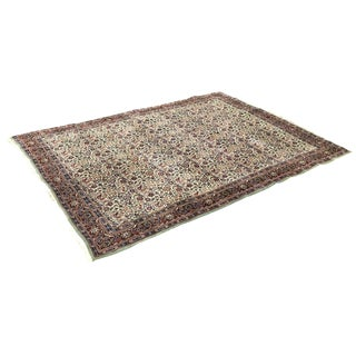 Green & Brown Oriental Rug - 12' x 9'
