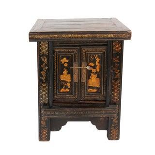 Vintage Mongolian Side Cabinet