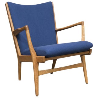 Hans J Wegner Mid-Century Model Ap 16 Lounge Chair