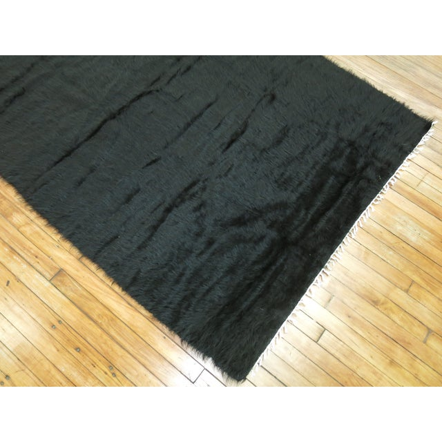 Vintage Mohair Rug - 4'7'' x 6'9'' - Image 5 of 9