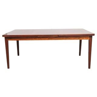 Skovby Mobelfabrik Danish Modern Rosewood Dining Table