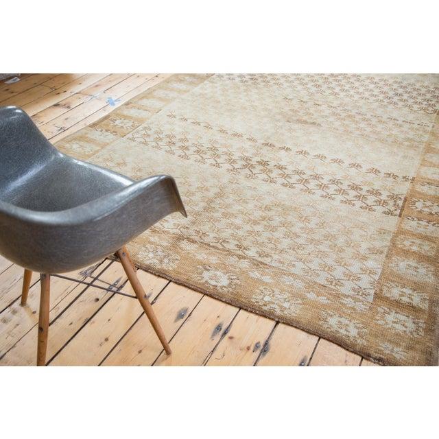 "Image of Distressed Oushak Carpet, 6'3"" X 9'4"""